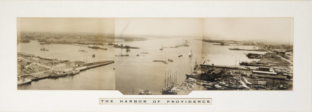 historic picture of Providence Harbor